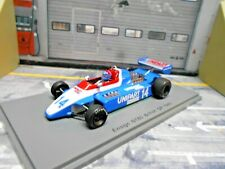 F1 ENSIGN Ford Cosworth N180 GP Britain #14 Jan Lammers 1980 Unipart Spark 1:43