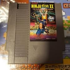 Ninja Gaiden 2 Nes (Nintendo) Game.