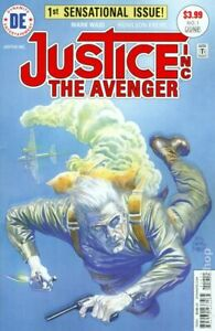 Justice Inc Avenger 1A Ross Variant VF 2015 Stock Image