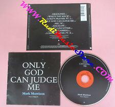 CD MARK MORRISON Only God Can Judge Me 1997 Europe WEA no lp mc dvd (CS15)