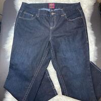 Torrid Women's Straight Leg Jeans Plus Size 20 Dark Wash Mid Rise Stitch