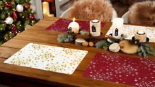 Weihnachten Christmas Platzdeckchen Platzset Platzmatte  Casa Tischsets 2 Stück