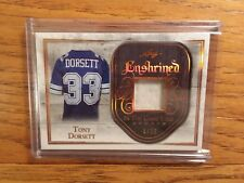 2018 Leaf In the Game Used TONY DORSETT Patch 6/20