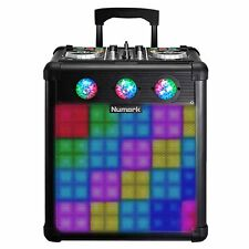 Numark Party Mix Pro DJ Controller with Built-In Light Show & Portable Speaker