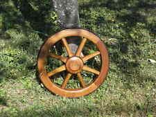 WHEEL Wheelbarrow wood Cart CARIOLE garden house country side holiday cottage
