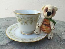 Handmade Miniature Crochet Berry Bear Amigurumi Plushes Christmas Decoration #6