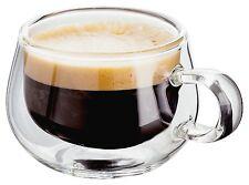 Giudice doppio strato ESPRESSO/COFFEE Occhiali 75ml-Set di 2. ISOLATO, caldo e freddo