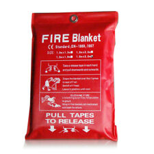 Fire Blanket Fiberglass Fire Flame Retardant Emergency Survival Safety Blanket