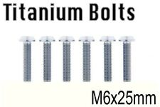 x6 New Titanium Bolt M6x25mm M6 25L Tapered Torx T30 Ti Screw Cycle Bicycle Bike