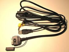 KENWOOD KCA-iP300V DNX6160 USB iPOD iPHONE CABLE NEW
