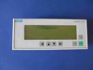 Siemens Simatic TD17 6AV3 017-1NE30-0AX0