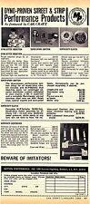 1969 MOTION PERFORMANCE INC - BALDWIN, NY  ~  GREAT CLASSIC ORIGINAL AD