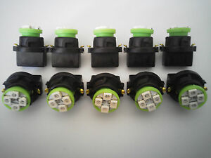 Fits LR 10 Green 4 LED Dashboard Instrument Panel Indicator Light Bulb Socket