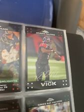 2007 Topps Chrome FOOTBALL SET 1-165 With Michael Vick #TC111 W/ Peyton Manning