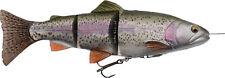 Savage Gear 4d Line-thru Trout Moderate sink MS - 15cm 40g Rainbow 57385