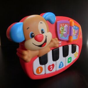 Piano jouet enfant vocal musical 2015 FISHER PRICE MATTEL rouge Chine N7507