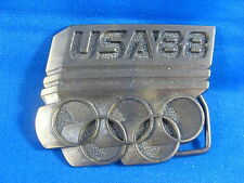 USA 1988 Olympics Belt Buckle