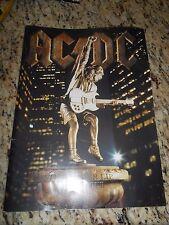 "AC/DC  Tourbook ""Stiff Upper Lip"" World Tour 2000 - 2001 Program ACDC RARE EUC F"