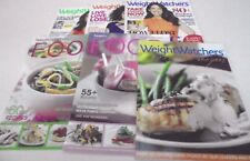 5 x Weight Watchers Books or Magazines - Fast Food, Favourite Recipes