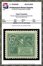 #E7 Special Delivery, Mint OG previously hinged, PSE Certificate # 01306406