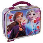 DISNEY FROZEN II ANNA  ELSA BPA Lead-Safe Insulated Lunch Bag Tote Box NWT 20