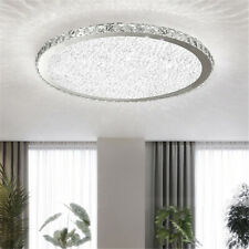 Modern Crystal Ceiling Light LED Pendant Lamp Flush Mount Fixtures Chandelier