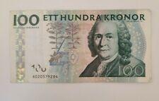 More details for 100 sweden kronor banknote used