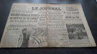"""El Diario"" Edition De 5 Horas Antiguo N º 17301 Domingo 3 Mars 1940 ABE"