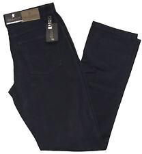 Pantalone uomo cotone caldo modello jeans tela strech taglia da 46 a 62 blu