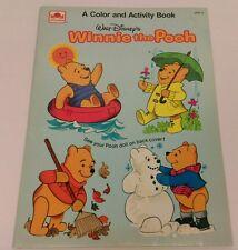 Vtg.  UNUSED 1978 Walt Disney WINNIE THE POOH coloring & activity book COMPLETE!