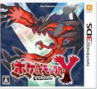 UsedGame 3DS Pokemon Y Import from Japan