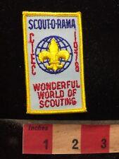 Vtg 1978 BSA Boy Scouts Patch CIEC WONDERFUL WORLD OF SCOUTING 70WC