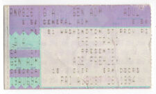 ACE FREHLEY Kiss CONCERT Ticket STUB Tour STRAND Providence Rhode Island RI
