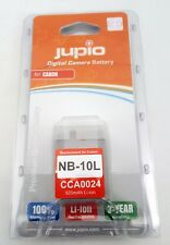 JUPIO NB- 10 l  x CANON  LITHIUM ION BATTERY PACK