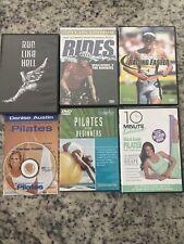6 DVD Fitness Lot - Denise Austin Pilates, Triathlon Racing Faster, Rides Vol 1