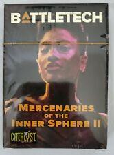 Battletech Mercenaries of the Inner Sphere II Pilot Card Deck NEW Catalyst 35886