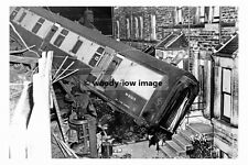 pt8209 - Railway Accident at Harrogate 8th August 1956 - photograph 6x4