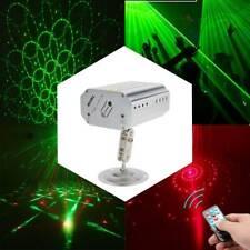 2x Mini Muster RGB Laserlicht DJ Projektor Disco LED Beleuchtung für Home Party