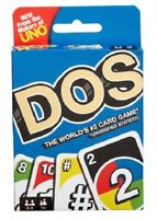 Uno DOS Family Card Game by Mattel
