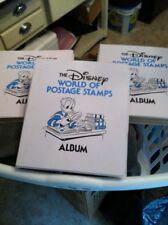 3 Disney World of Postage Stamps Albums