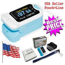 USA Seller OLED Portable Fingertip Pulse Oximeter SPO2 Heart Rate Monitor PR FDA