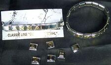 Armband komplett mit Name bis 5 Buchstaben für Nomination Neu CLASSIC LINE