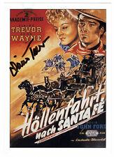 Claire Trevor †2000 - original signiertes Autogramm - Höllenfahrt nach Santa Fe