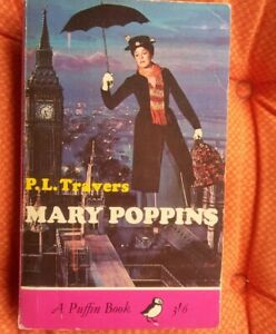Pre-owned Vintage Mary Poppins Puffin Book