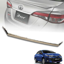 CHROME COVER LINE REAR TAILGATE TRIM FIT FOR TOYOTA YARIS ATIV 2017-2018