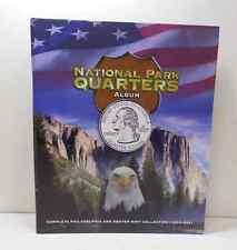 UNC 70 pc. National State Park Quarters P & D Mint 2010-2016 In Color Album