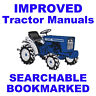 FORD 6000 Series & Commander Tractors SERVICE REPAIR  SHOP MANUAL SEARCHABLE CD