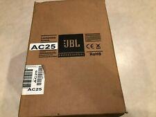 JBL AC25 ULTRA-COMPACT 2-WAY LOUDSPEAKER SYSTEM