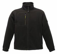 Regatta Hardwear Workwear Work Black Zipped Fleece Sizes S - 3XL