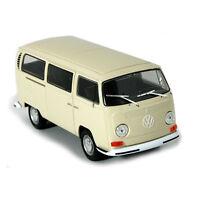 Welly 22472 VW T2 Bus beige 1972 Maßstab 1:24 Modellauto NEU! °